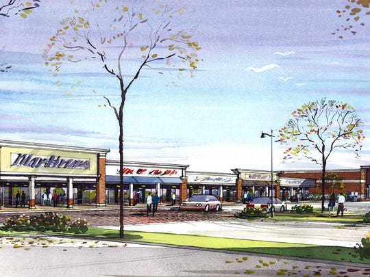 A 2014 rendering shows what a ShopRite supermarket, proposed for a site along the Admiral Wilson Boulevard in Camden, would have looked like. The supermarket never became a reality, and the site remains vacant.