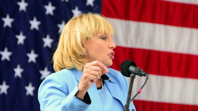 Lt. Gov. Kim Guadagno at the New Jersey State Elks' 11th Annual Army of Hope Picnic, on Sunday, Sept. 13, 2015 in Forked River. (Governor's Office photo)