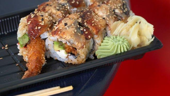 SVG Roll at Jonys Sushi