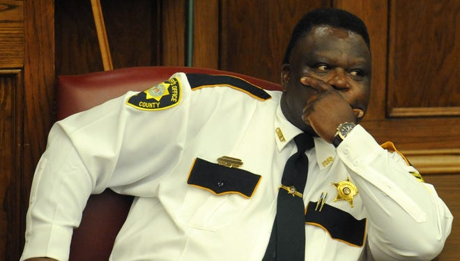 Forrest County Chief Deputy Charles Bolton was indicted, along with his wife, for federal charges of tax evasion.