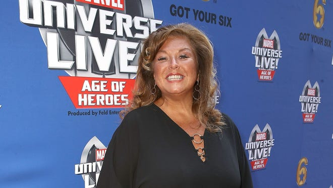Abby Lee Miller arrives at an event in Los Angeles on July 8, 2017, a few days before she entered prison.