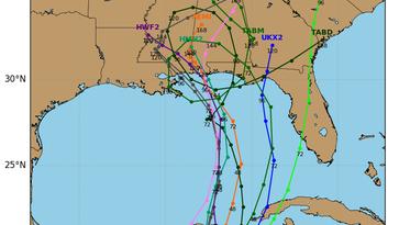 Weekend weather: Alberto forms, bears down on Gulf coast