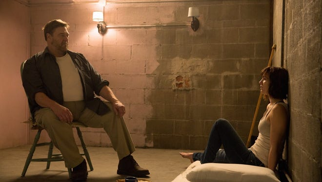 "John Goodman, at left, and Mary Elizabeth Winstead star in ""10 Cloverfield Lane,"" currently playing in El Paso-area theaters."