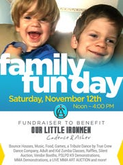 Nov. 12 Family Fun Day Fundraiser.