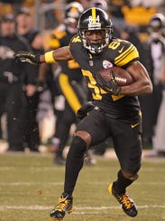 The Pittsburgh Steelers and wide receiver Antonio Brown