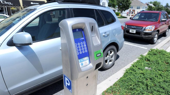 New parking systems in Rehoboth. The News Journal/GARY EMEIGH