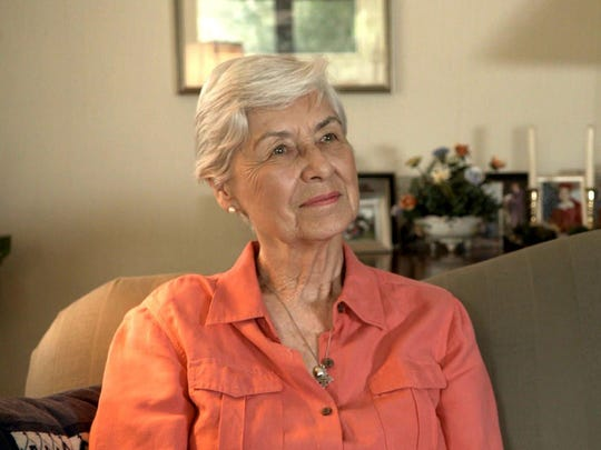 """Ann Carpenter, the wife of Lewis Carpenter, New Braunfels, Texas (June 2012). From the documentary, """"Requiem for a Running Back"""", about NFL player Lewis Carpenter. It will be shown at the 2016 Freep Film Festival."""