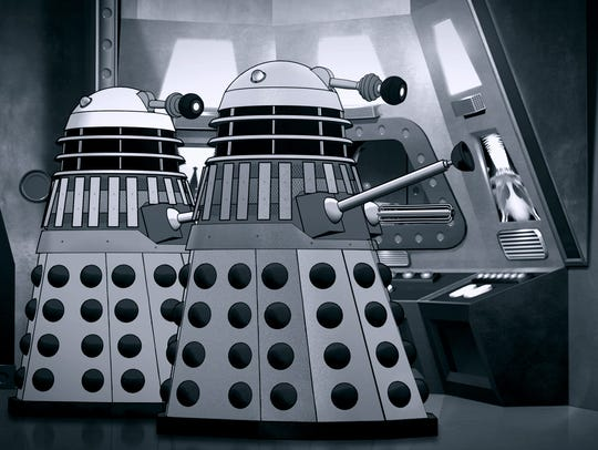 """""""Doctor Who: The Power of the Daleks,"""" a six-part animated"""