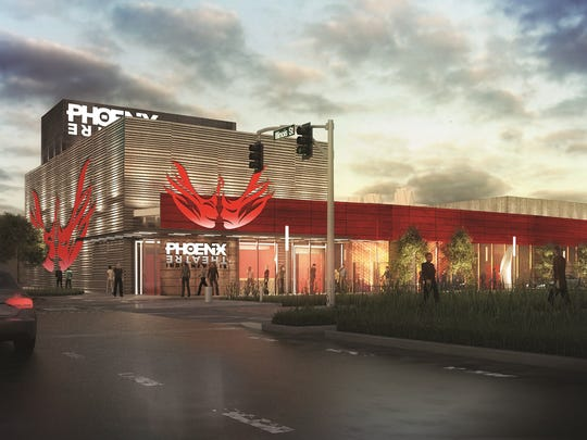 Construction for the new Phoenix Theatre will begin