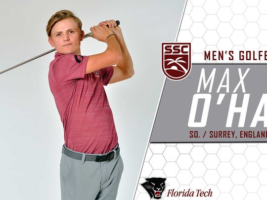 Max O'Haganhas been named Sunshine State Conference