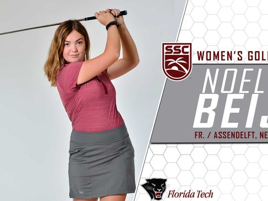 Noelle Beijer has been named Sunshine State Conference