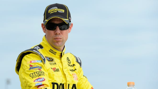 Matt Kenseth earned his 12th career pole in 513 attempts Friday at Auto Club Speedway.
