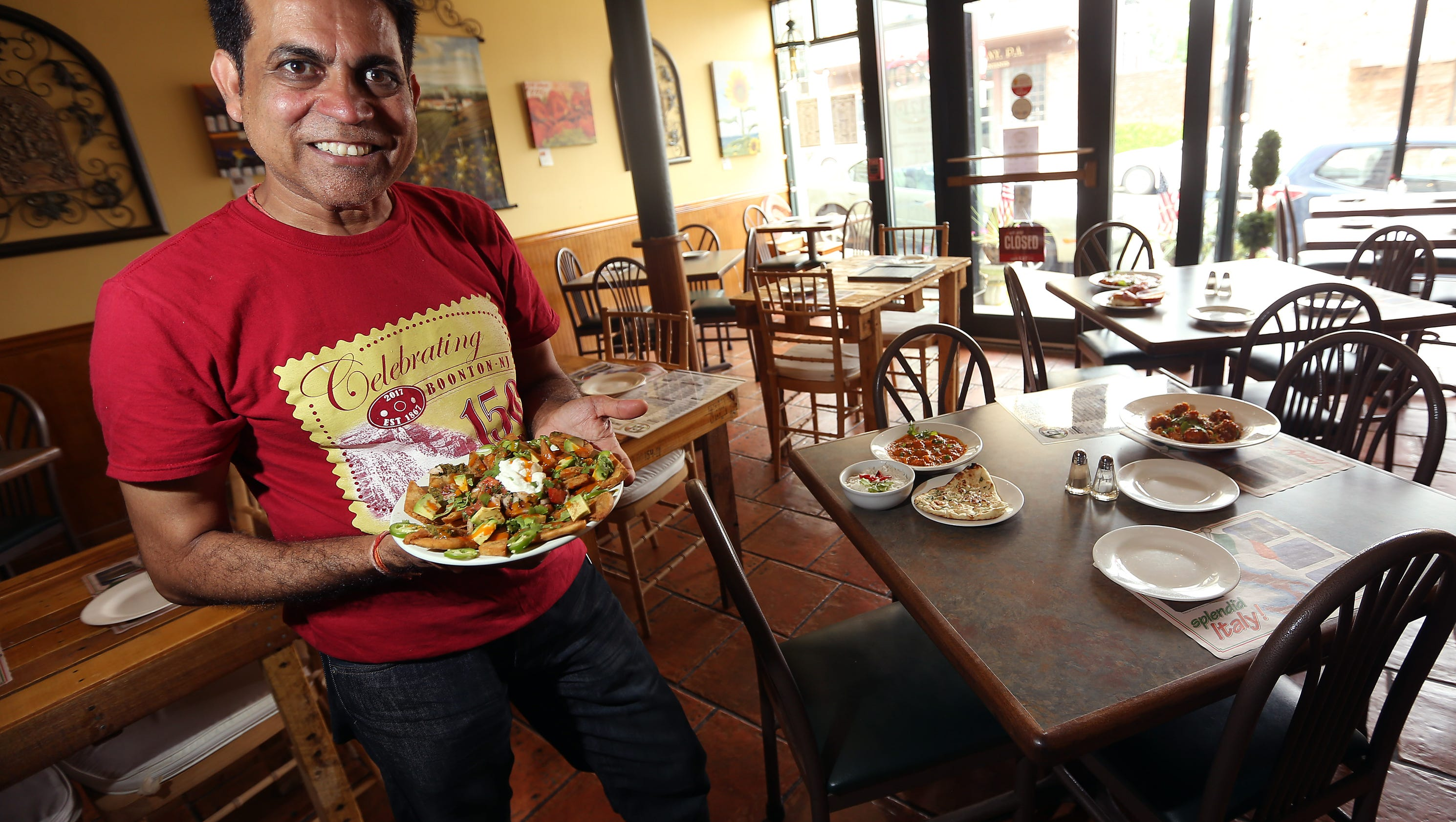 boonton restaurant blends italian and indian cuisine