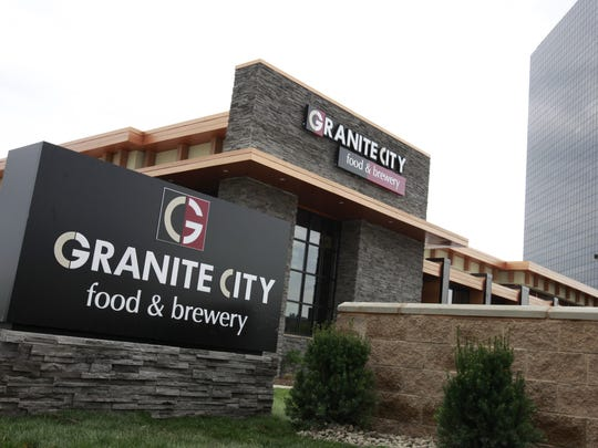 The new Granite City Food & Brewery sits on West Big Beaver near I-75 seen here on Friday, May 5, 2012 at their new restaurant location in Troy, Mich.  The restaurant will host a V.I.P. reception tonight at 7PM and open it's door to the public on Tuesday, May 8, 2012 at 11AM.  JARRAD HENDERSON/Detroit Free Press