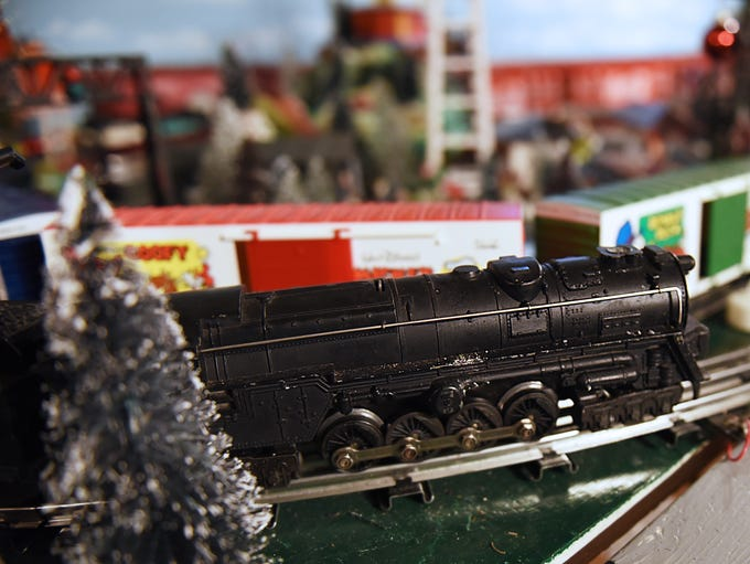 This is the first train that Ronnie Ward ever received.