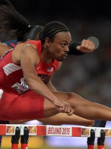 Aries Merritt wins 110m hurdles semifinal in 13.08