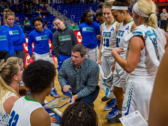 FGCU coach Karl Smesko's young Eagles have come a long way. But there's more work to do before they tip ASUN  play at Stetson on Saturday.