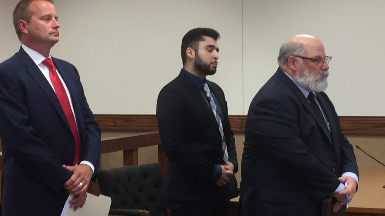 Aizaz Siddiqui was sentenced in Binghamton City Court to 3 years probation and 60 days working weekends in the county jail.