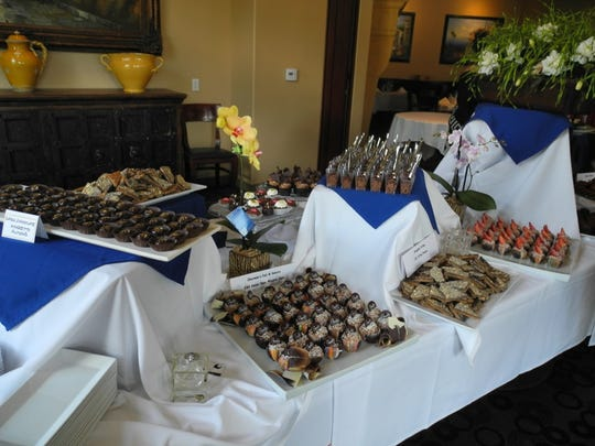A chocolate buffet from some of the desert's best pastry chefs and restaurants.