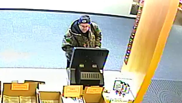 A man has reportedly been using the lost/stolen library card of a 12-year-old girl to steal multiple items from various libraries. Recently 10 DVDs valued at $250 were taken from the Cudahy Family Library, 3500 E. Library Drive in Cudahy.