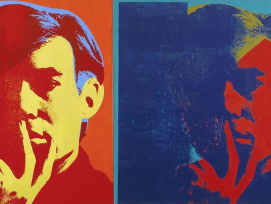 """Andy Warhol, Double Self Portrait, 1967,'' is part"