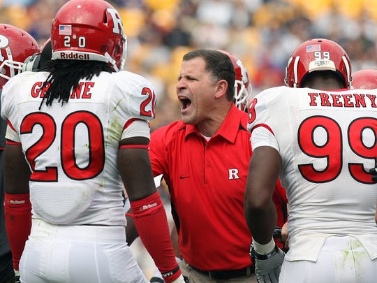 Former Rutgers head football coach Greg Schiano is