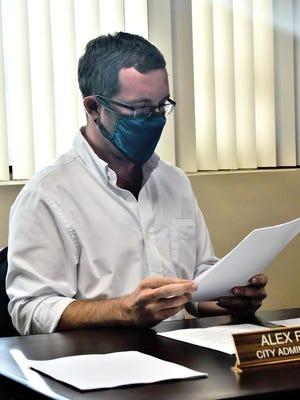 Pembroke City Administrator Alex Floyd, shown in this file photo, said City Clerk Sharroll Fanslau has been placed on administrative leave.