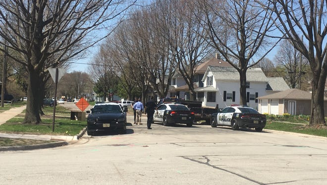 The Green Bay Police Department responded shortly before noon Monday to a report of gunfire in the 500 block Elmore Street.