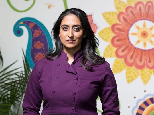 Sasha Raj: Owner, chef,24Carrots Natural Cafe & Juice