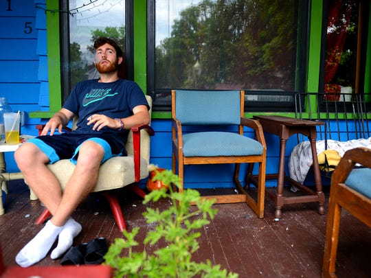 Henry Mountain, 23, a MSU senior studying clinical