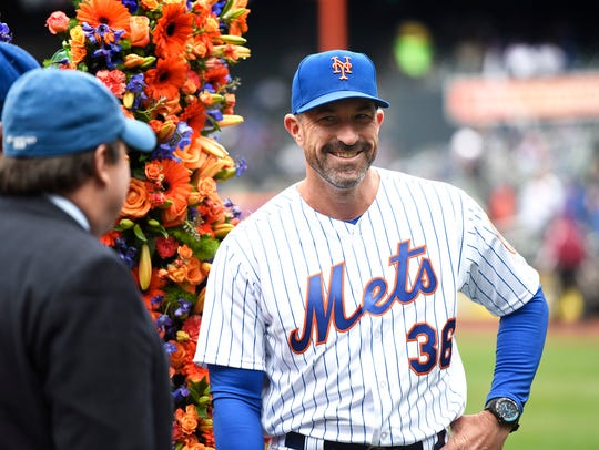 Mickey Callaway is entering his second season managing the New York Mets.