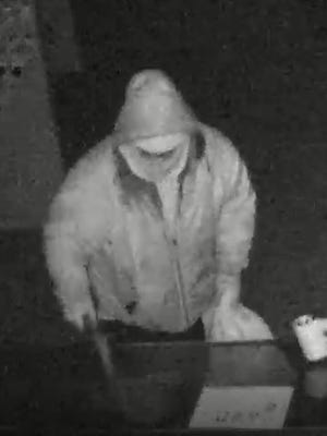 Security footage captures the first suspect stealing weapons from Rangemasters Training Center in Clive. Police and ATF are asking for the public's help.