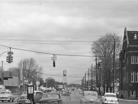 The intersection of Cedar Street and Mount Hope Avenue,