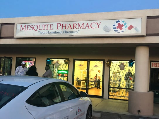 Mesquite Pharmacy, at 114 N. Sandhill Blvd., offers