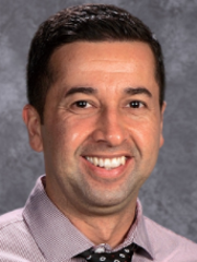 Carlos Covarrubias is the new principal at Balboa Middle