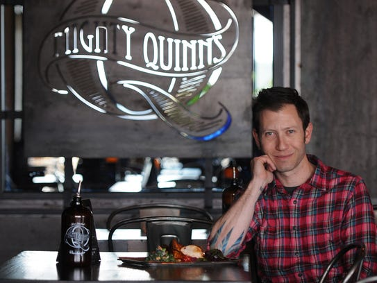 Hugh Magnum, chef of Mighty Quinn's Barbeque