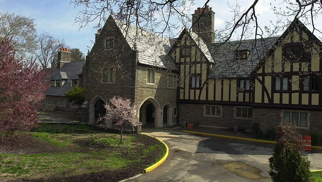 The main building, containing classrooms and dormitories at the Summit Children's Residence and School in Upper Nyack.