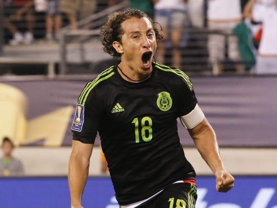 Andrés Guardado ha sido un referente de la Selección Mexicana de Fútbol.