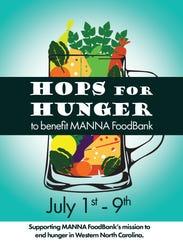 Hops for Hunger is July 1-9 in Asheville.