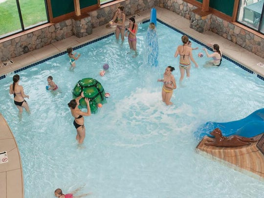 In business since June 2001, The Waters of Minocqua Hotel and Waterpark provide 10,000 square feet of indoor and outdoor aquatic activities with a Northwoods theme.