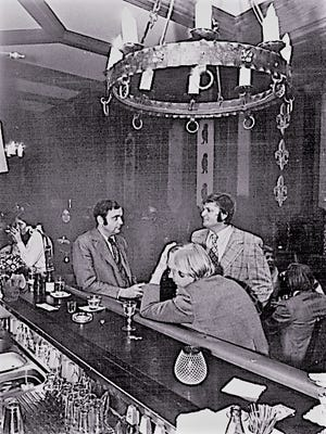 April 20, 1973: Night Clubs and Taverns included The Red Lion at 36 W. Main St.
