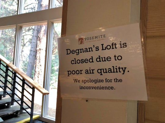 A sign indicates the upstairs area in Degnan's Kitchen,