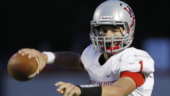 West Lafayette quarterback Mikey Kidwell has limited turnovers and increased his completion percentage as a junior.
