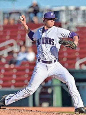 Furman's Will Gaddis threw seven shutout innings in the Paladins 2-0 win over Wofford Thursday.
