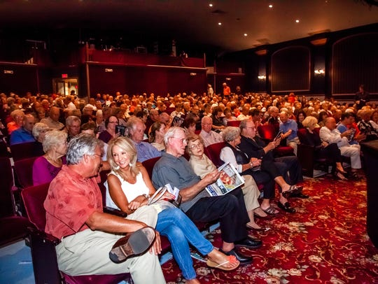 A packed house at Florida Repertory Theatre