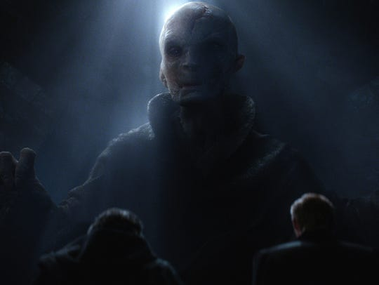 Serkis played Supreme Leader Snoke in 2015's 'Star