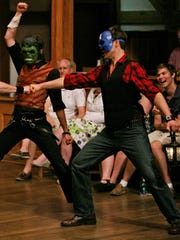 """Actors perform in """"Romeo and Juliet"""" at the American"""