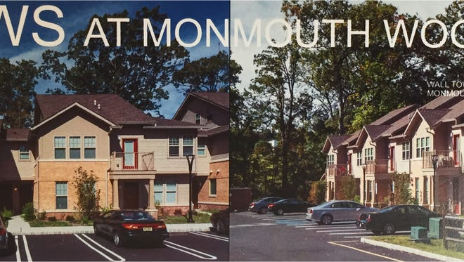 Rendering of the Willows at Monmouth Woods, a 110-unit affordable housing complex proposed on Route 34 in Wall.