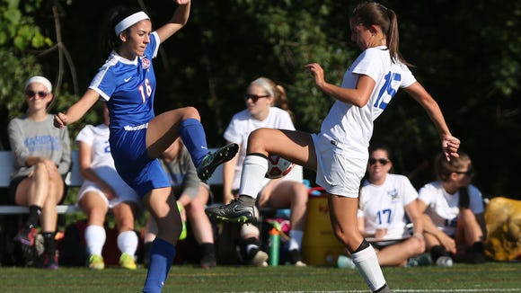Mahopac defeated Carmel 1-0 in girl's soccer action