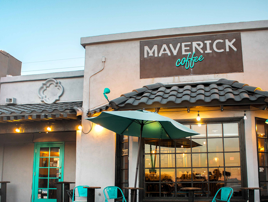 Maverick Coffee is located in north Scottsdale.